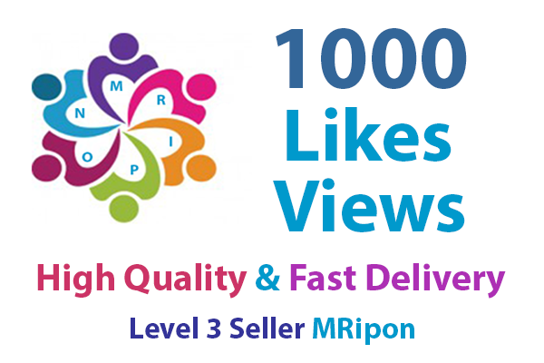 Add Instant 1000 High Quality Real Social Photo Post Video Promotion