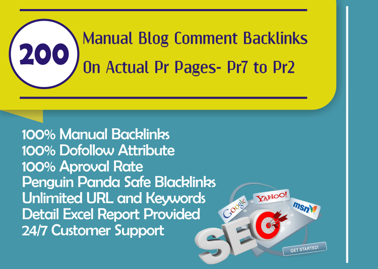 Provide 200 High Da Blog Comments