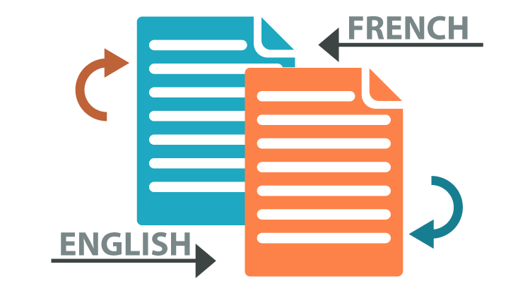 Translating from French to English and vice versa