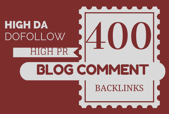 Manually Post 400 comments via blog commenting