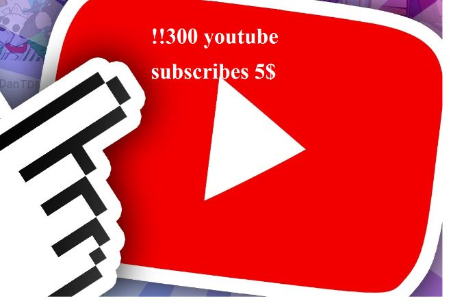 300 real You.tube Subscribes or 1200 quality  likes