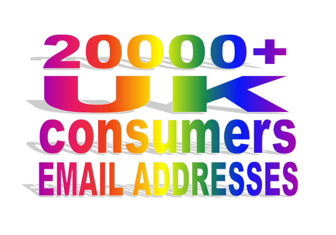 Give You 20k UK Consumers Email List