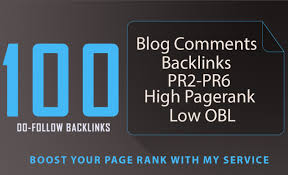 Build 100 Blog Comment Backlinks For You