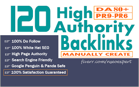 Skyrocket Your Google Rankings With 120 Pr9 High Pr Seo Backlinks