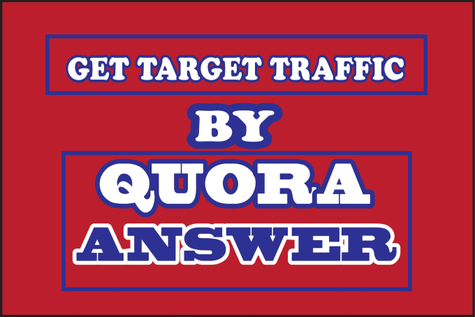 promote your website with 10 high quality quora answers