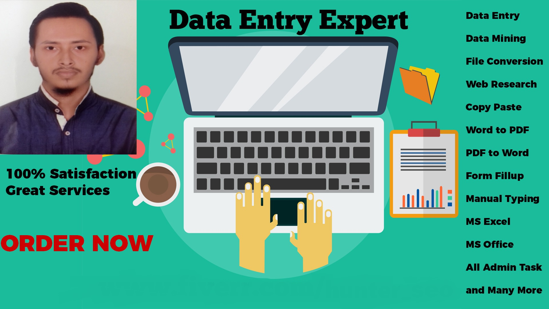 Will Do Accurate Data Entry Work And Do Data Entry Jobs