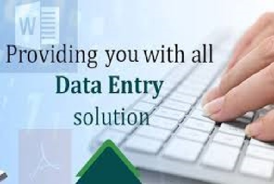 do data entry, data analysis, data mining and data analysis