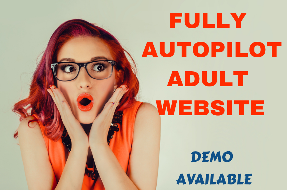 Profitable XXX Website in 24 hour- Fully Autopilot