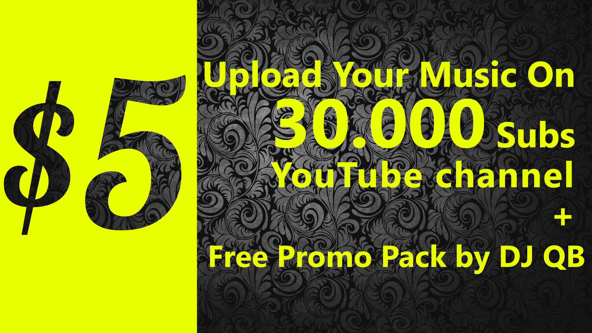Upload your music on 31.000+ Subscribers YouTube chan...