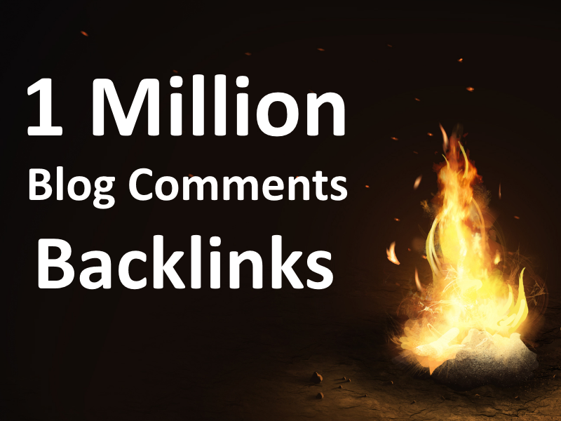 Make 1 Million Blog Comments Backlinks