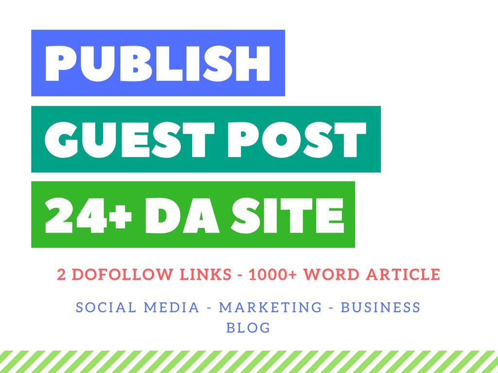 Sponsored Guest Post On 24 Da Blog