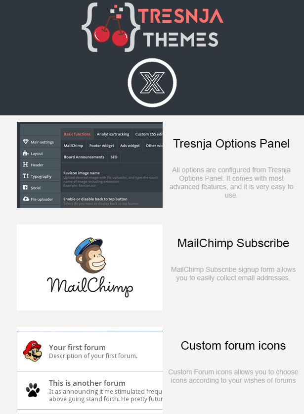 X Forum - Most Advanced Multipurpose Premium phpBB 3.1 & 3.2 Theme
