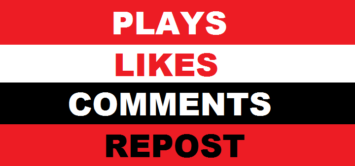 10000+ plaYs with 300 likEs & 50 comments & 50 repost fast