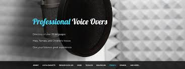 I offer you a professional audio recording in English or in Arabic