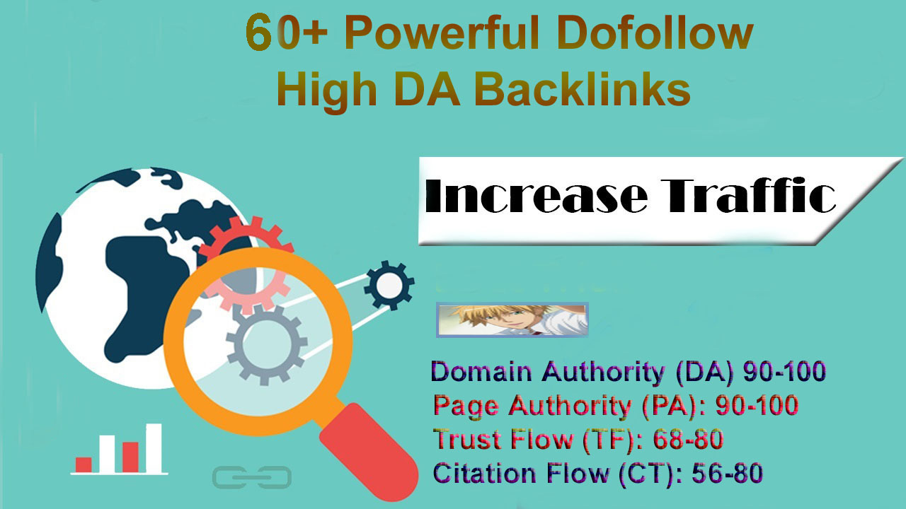 Boost Your Google Ranking 45+ Powerful High DA Dofollow Backlinks Instant Results