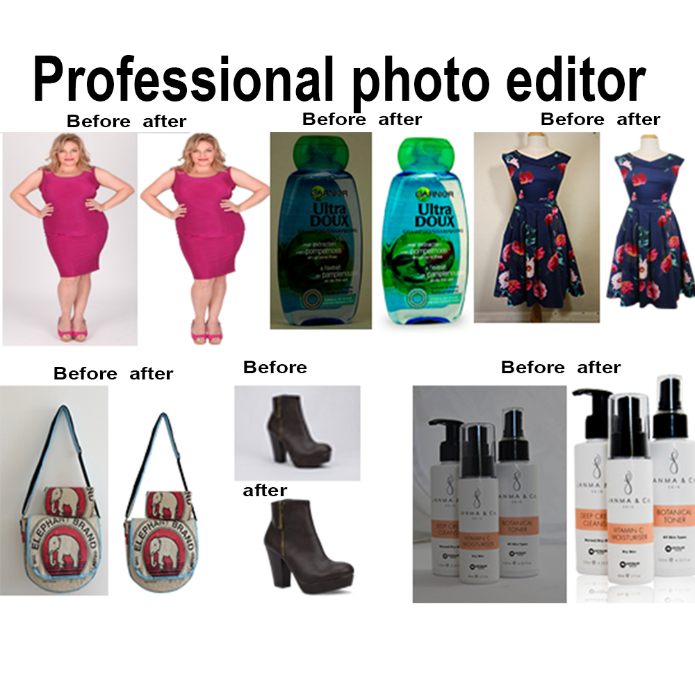 do professional Photoshop, photo editing job