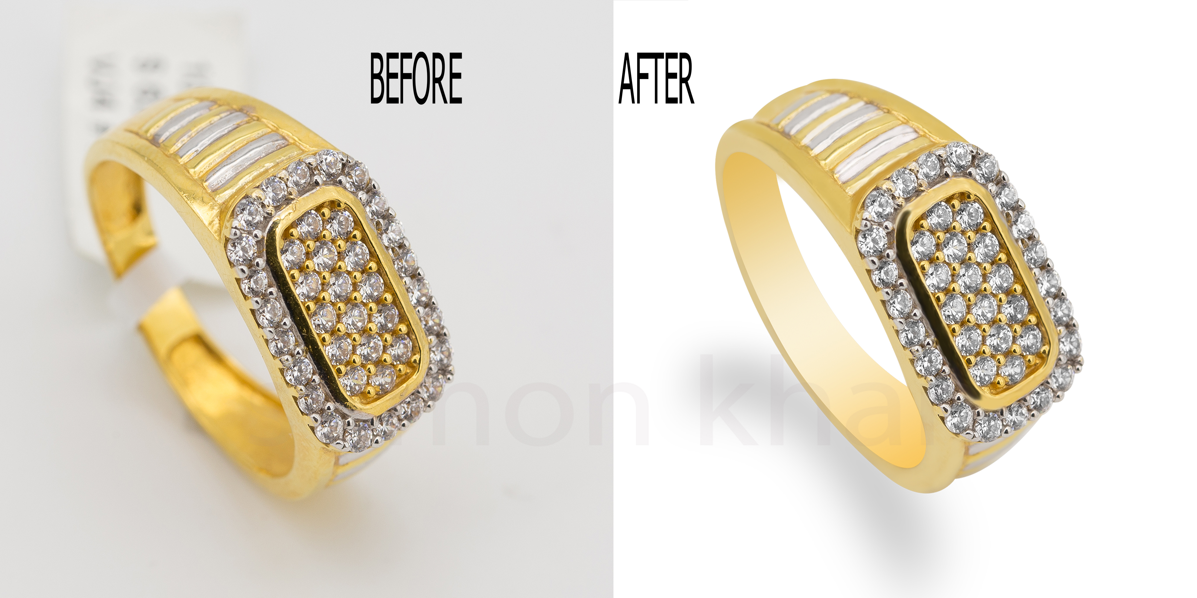 Do High End Jewelry Retouching With High Quality within 24 hours