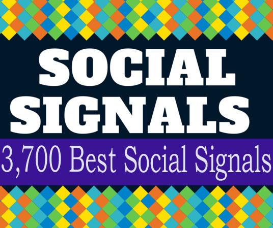 3,600 Quality Social Signals from top 4 social sites for ranking your URL