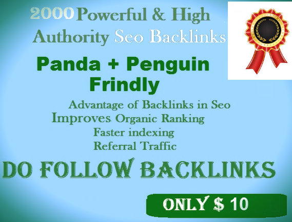 ProvideGSA SER 1500 High Athourity Da Pa Contextual Backlinks