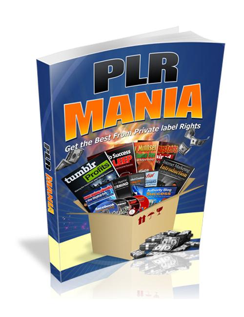PLR Mania ebook