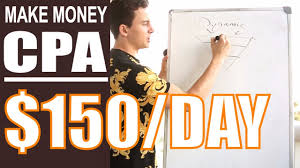 show fastest method how to make 150 day from CPA n pinterest
