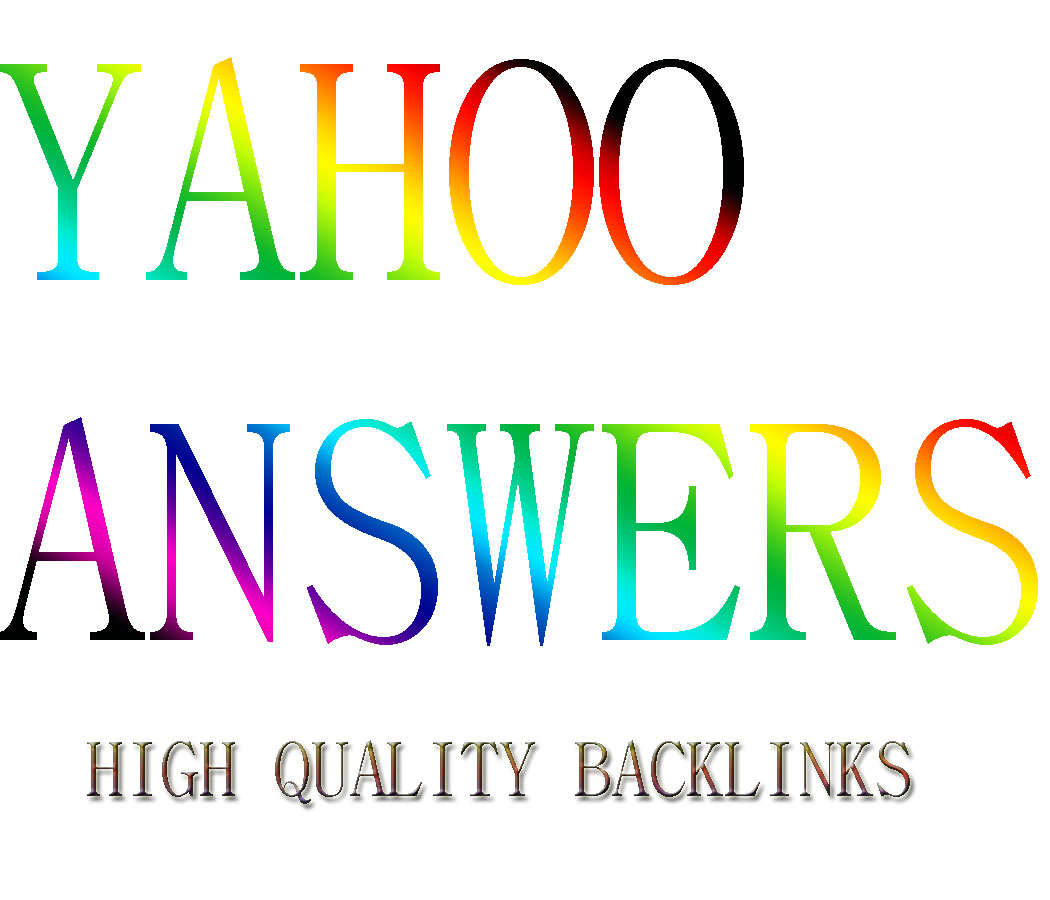 HQ Yahoo Answers To Get Your Site Rank In Google First Page
