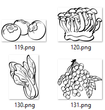 Special collection no2, 4224 SVG snd PNG images