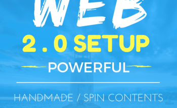 Handmade 500 Web 2.0 Links with Unique Content to rank very high