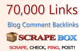 scrapebox BLAST of 70 000 blog comments,UNLIMITED URLS & KEYWORDS ALLOWED,GUARANTED RESULTS