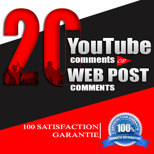 Add 20 relaevant Comments in your social or web post.