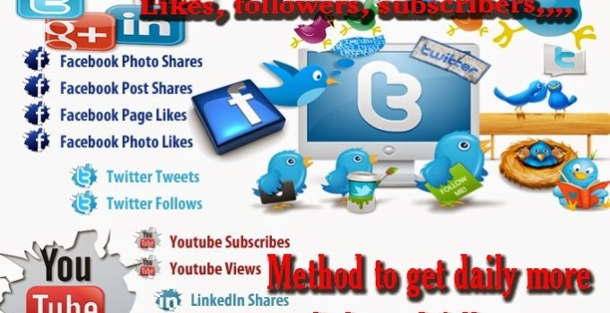 Social media followers and likes websites for free