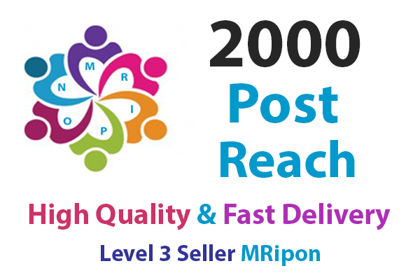 Start Instant 2000 High Quality Social Photo Post Reach