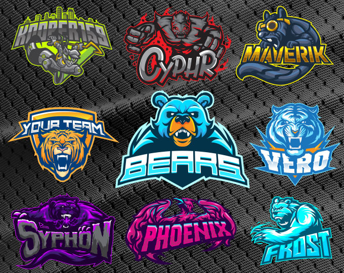 Design Awesome Mascot Logo For Esports,  Twitch,  Sports.