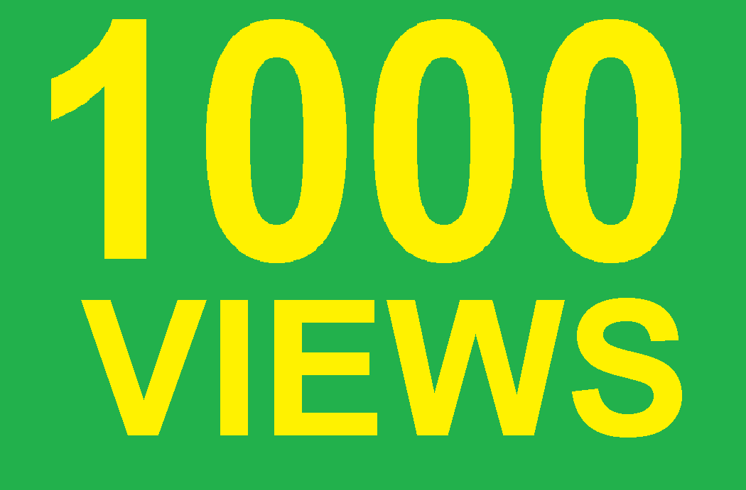 1000+ High Retention NON DROP Youtube Views