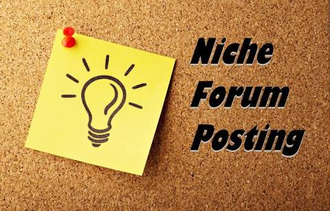Provide you 30 High Quality Forum posting with URL