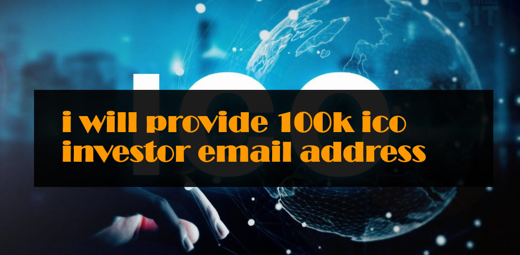 ICO investor database 101k Ico Investor Email Id