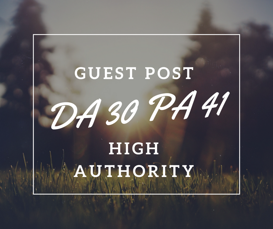 DA30 PA41 High Authority Guest Post