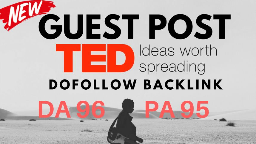 Guest post in TED com with Dofollow Link