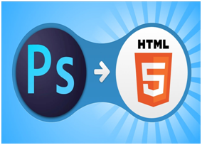 convert psd to html responsive website