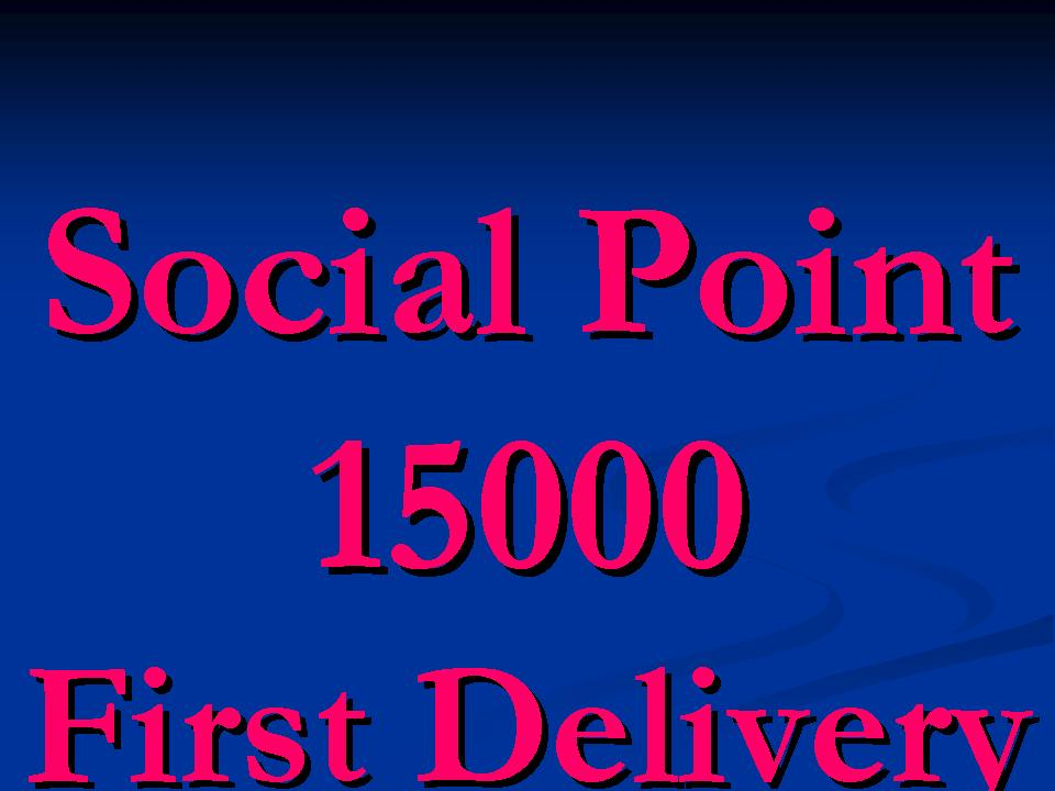 Social Network 20,000 point