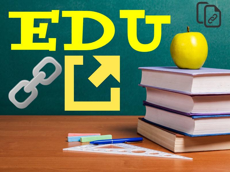 Create 20. edu do follow backlinks low obl