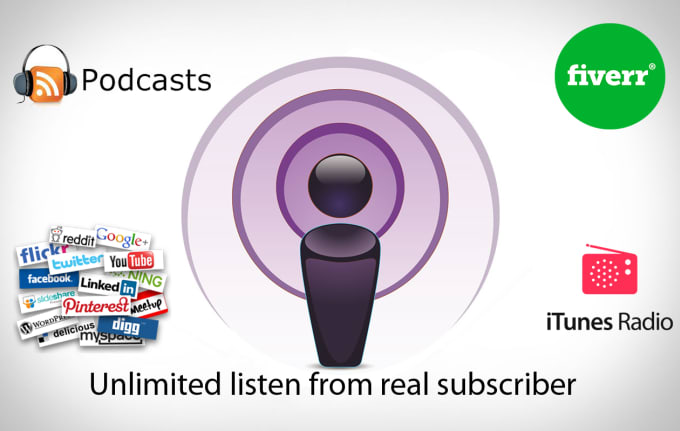 promote and download 300 episodes of your podcsat with subscription for 5