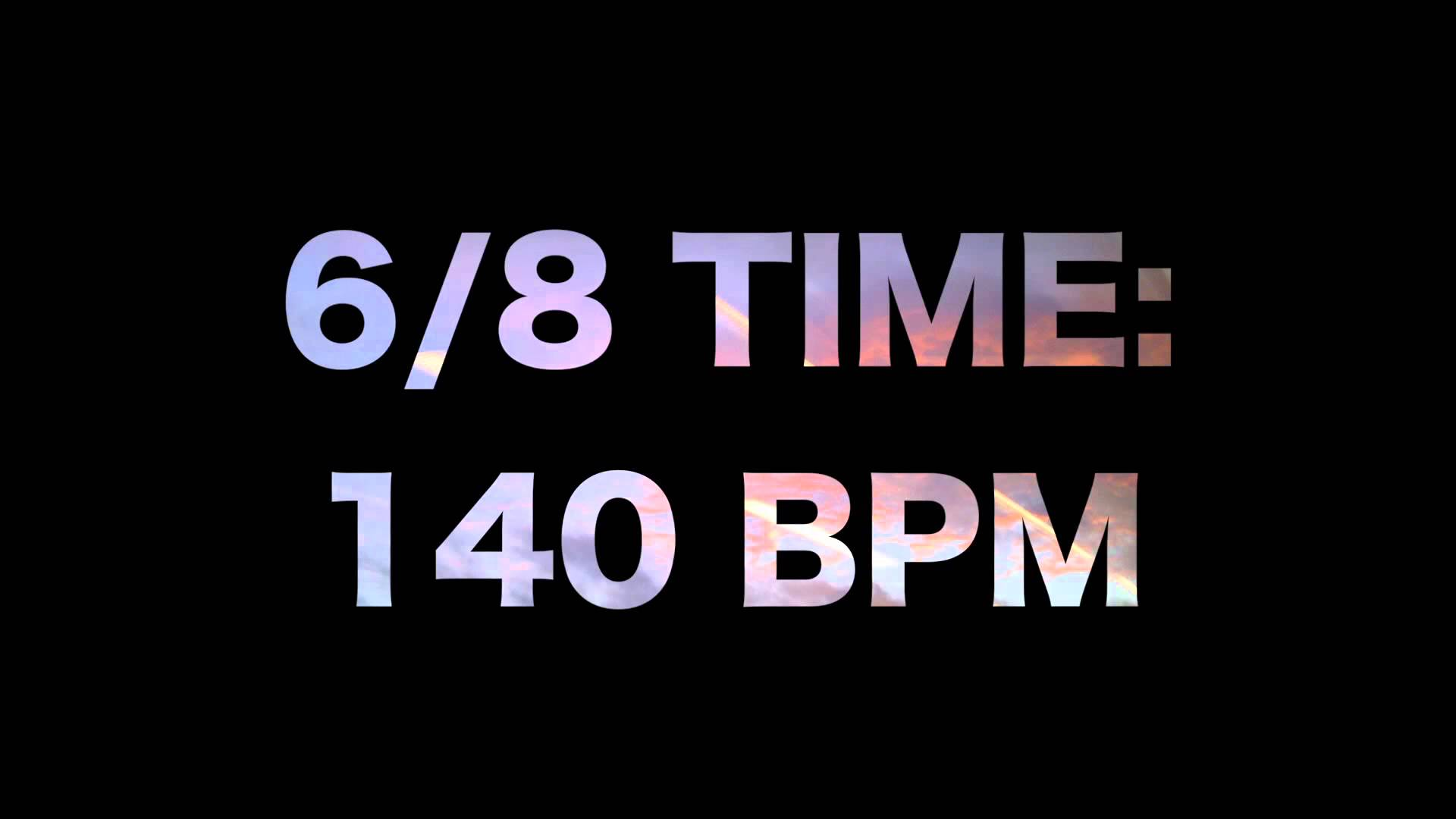 Change bpm faster or slower for your audio or video