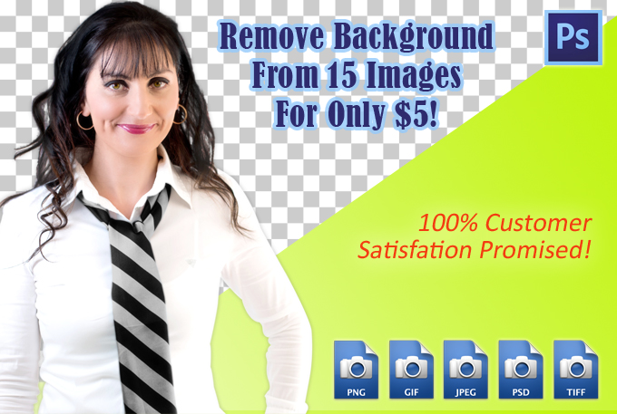 remove background from images using photoshop