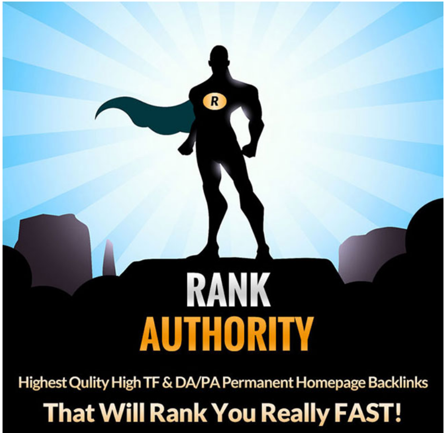 Rank Authority 10 PBN Posts - High TF Homepage Links for $20