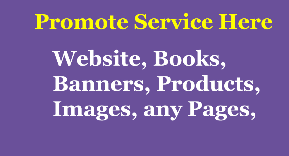 I promote your any website,Apps, Book, Products, Banner to over 50 Millions active Social Media User