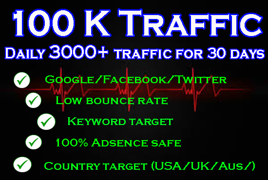 Here s way to get 150000 low bounce rate Website Traffic