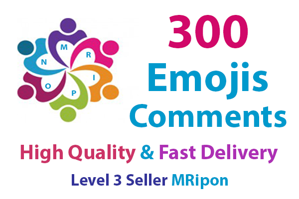 Start Instant 300 High Quality Photo Post Emoji Comme...