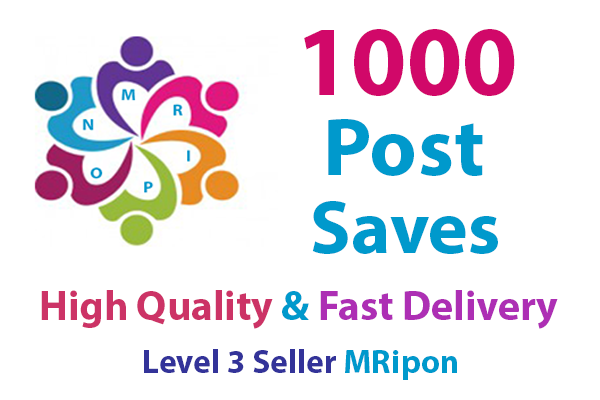 Add Instant 1000 High Quality Social Photo Post Saves