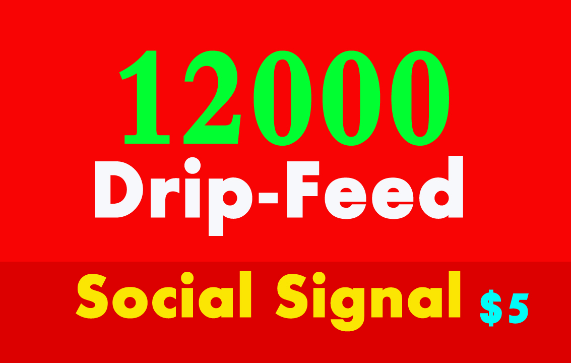 Do 12000 Quality SEO Social Signals